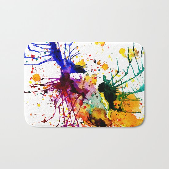 bright fantasy Bath Mat