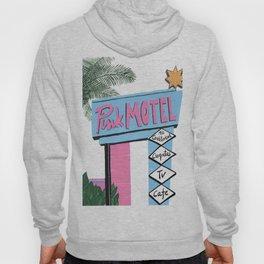 Pink motel Hoody