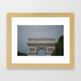 Arc De Triomphe 2 Framed Art Print