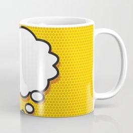 Comic Book THINK Coffee Mug