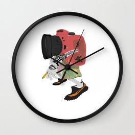 Choot Em' Wall Clock