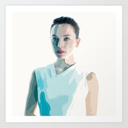 Daisy Ridley 2 Art Print