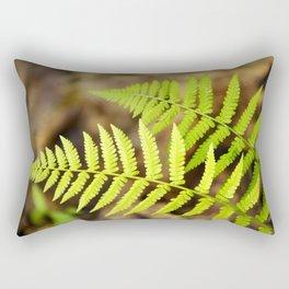 Spring Ferns Rectangular Pillow
