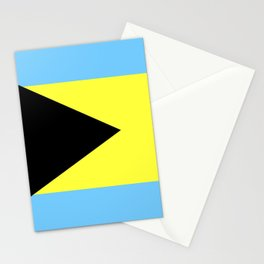 bahamas country flag Stationery Cards