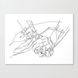Caress & Crush Canvas Print