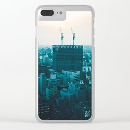 Osaka morning Clear iPhone Case