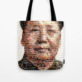 BEHIND THE FACE Mao   China Capitalism Tote Bag