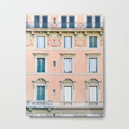 Roma #2 - Rome Italy Photography Metal Print