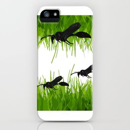 Insect composition iPhone Case