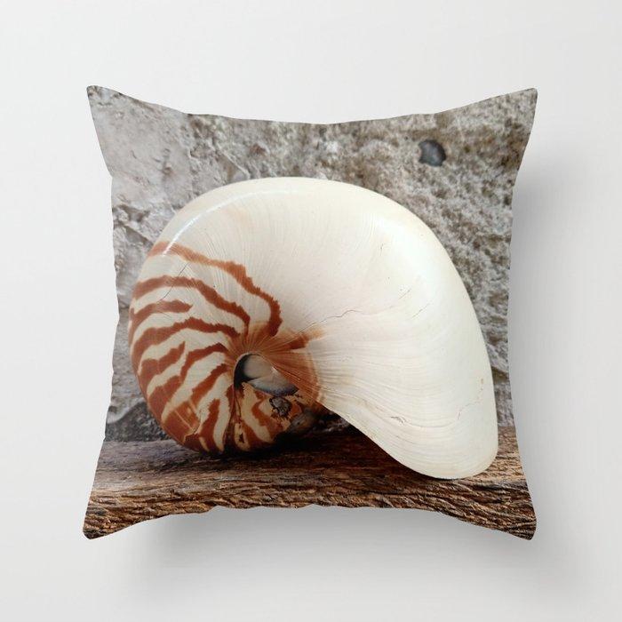 Seashell Series (No. 1) Throw Pillow