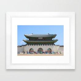 Gyeonbokgung Palace Seoul Framed Art Print
