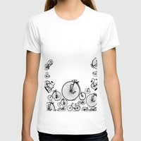 bicycle T-shirts featuring Bicycle by mark ashkenazi