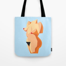 Venus the Queen - Blue Tote Bag