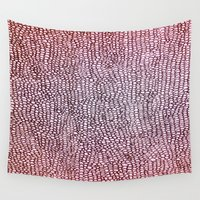bubbles Wall Tapestries featuring Bubbles by Maggie Dylan