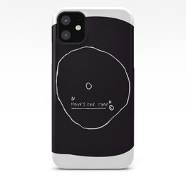 Now' s The Time Basquiat iPhone Case