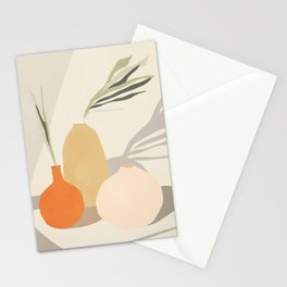 Vases2 Stationery Cards
