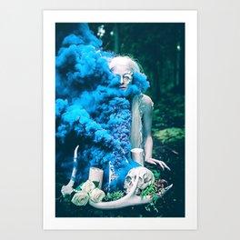Vampire Flower (Edit 5) Art Print