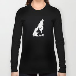 Wolf Knight Long Sleeve T-shirt