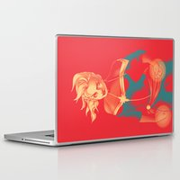 captain Laptop & iPad Skins featuring Captain by SandraG.N.