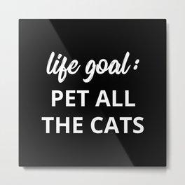 The Cat Lover II Metal Print