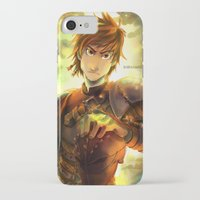 hiccup iPhone & iPod Cases featuring Hiccup by keiden