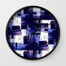 Doors Windows & Stairs Wall Clock