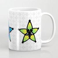 kingdom hearts Mugs featuring Kingdom Hearts - Wayfinders by Lunil