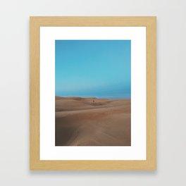 OCEANO DUNES ((3)) Framed Art Print