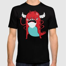 Monster Nagging MEDIUM Mens Fitted Tee Black