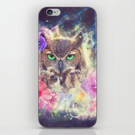 Space Owl with Spice iPhone Skin