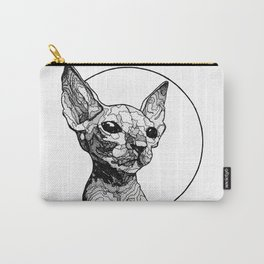 Inside out sphynx cat Carry-All Pouch
