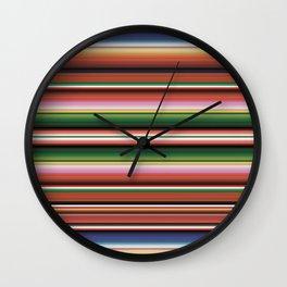 Southwest Serape Wall Clock