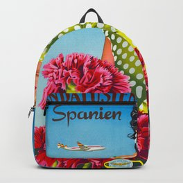 Andalusia - Vintage Travel Poster Backpack