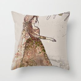 There's Ivy, That's For Fidelity  Throw Pillow
