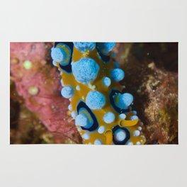 Toxic nudibranch Rug