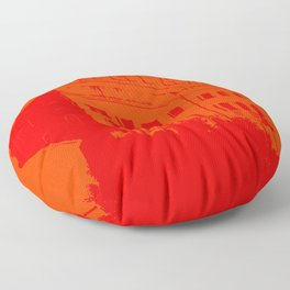 Venezia Red by FRANKENBERG Floor Pillow