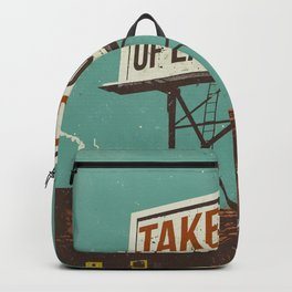 TAKE CARE OF EACH OTHER Backpack