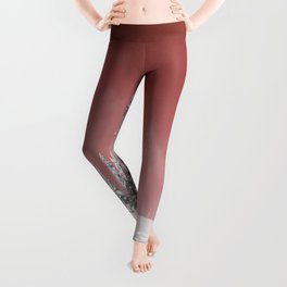 Red sky Leggings