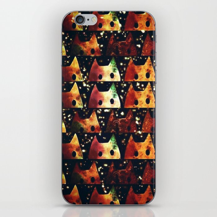 Cats Christmas ver-197 iPhone Skin
