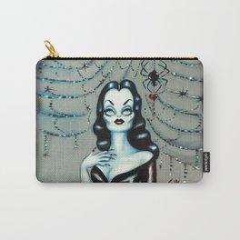Vampira Black Widow Valentine Carry-All Pouch