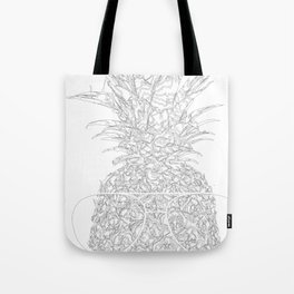 pineapple sophistication Tote Bag