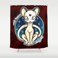 persian Shower Curtains featuring 53 - Persian by Lyxy