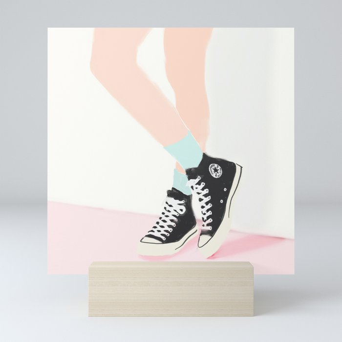 WAITING FOR YOU Mini Art Print