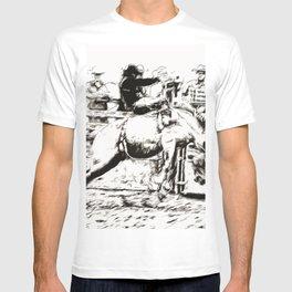 Bucking Bronco Rider - Rodeo Event T-shirt