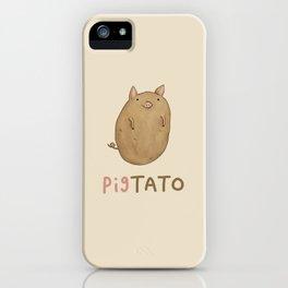 Pigtato iPhone Case