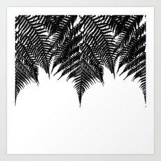 Fern Fringe Art Print