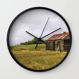 Little House on the Prairie Wall Clock