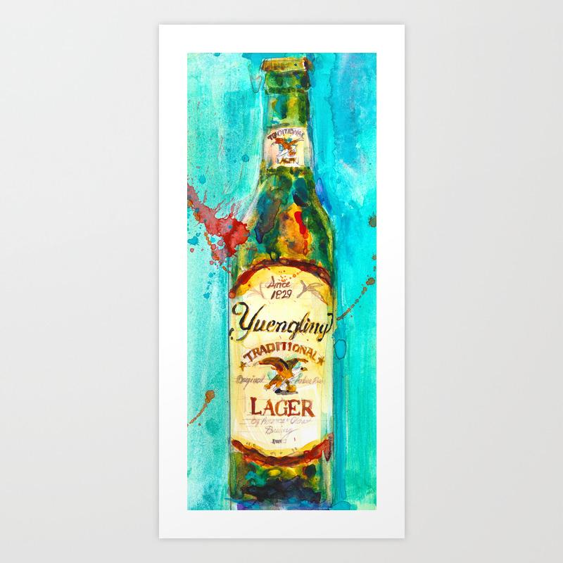 YUENGLING BEER PA BEST Art Print