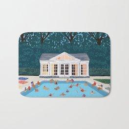 Little poolhouse Bath Mat