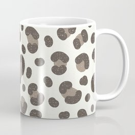 Linen Leopard Print Coffee Mug